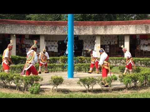 "Totonacs of Papantla, Veracruz performing the ""voladores"" ritual"