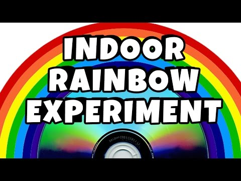 science kids how to make a rainbow