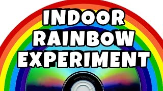 DIY Easy Science Experiment | Amazing Science Experiments | Indoor Rainbow Experiment