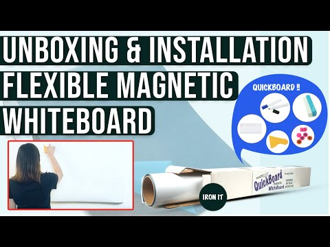 quick-board-unboxing-and-installation---magnetic-white-board