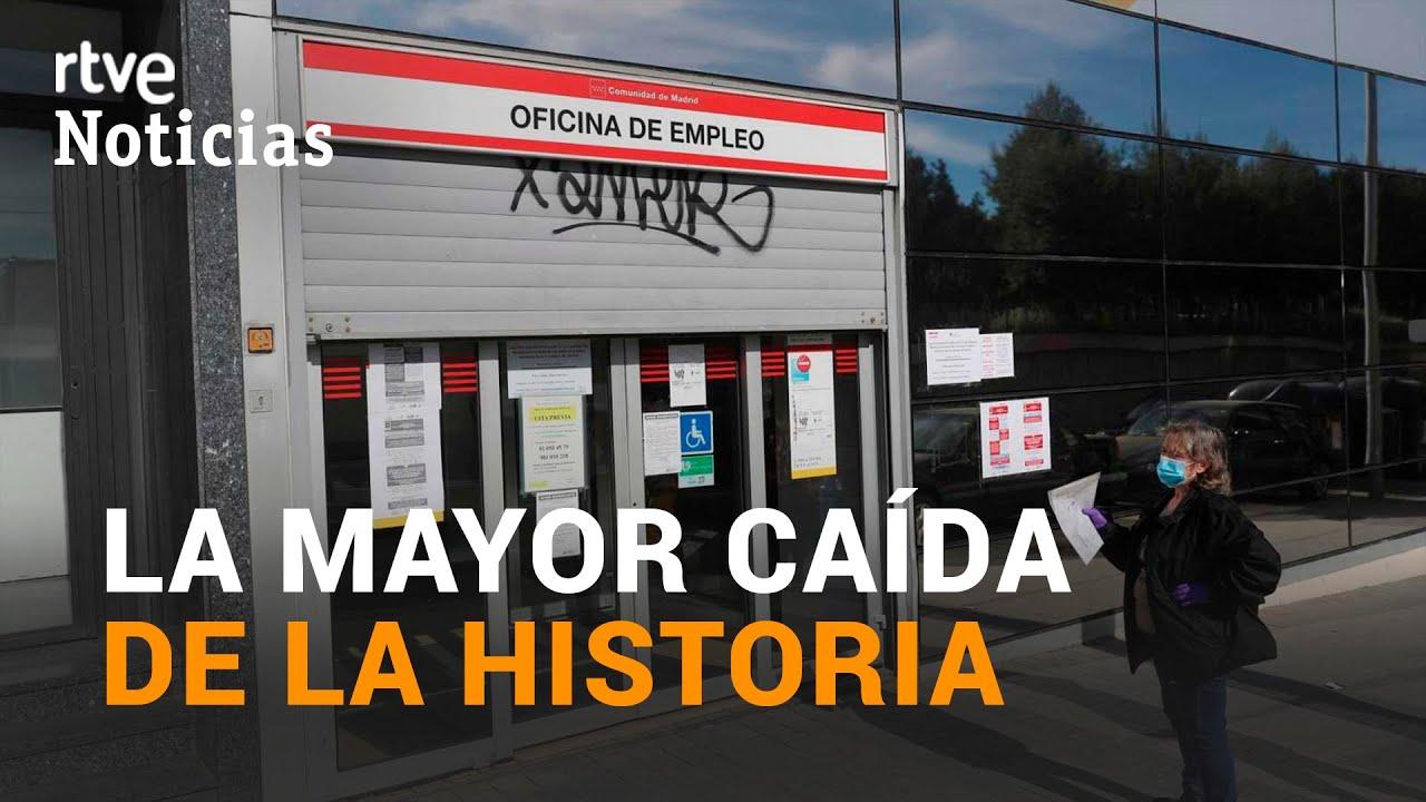 La PANDEMIA ha destruido MÁS DE 1 MILLÓN DE EMPLEOS en ESPAÑA | RTVE
