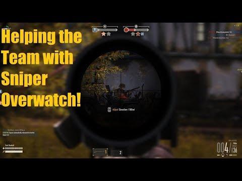 Sniper Helps Win the Game! - Heroes & Generals Gameplay