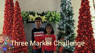 Three Marker Challenge #ThreeMarkerChallenge