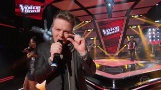 Michel Teló canta Humilde Residência - Michel Teló | The Voice Brasil 2016 4º dia 27/10 Final