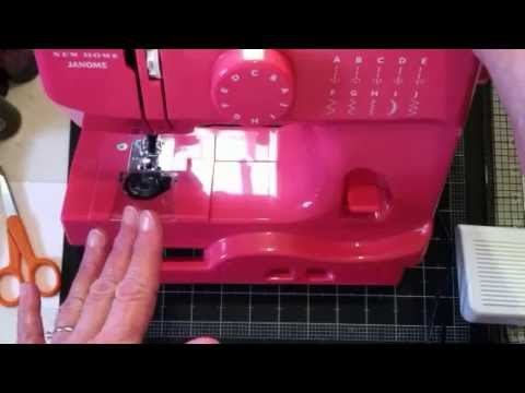 My New Toy Janome Derby Sewing Machine YouTube Cool Janome Mini Sewing Machine Canada