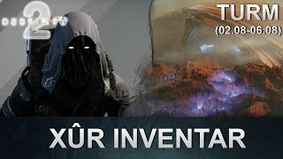 Destiny 2: Xur Standort & Inventar (02.08.2019) (Deutsch/German)