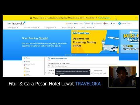 Fitur Dan Cara Pesan Hotel Lewat Traveloka #part 1