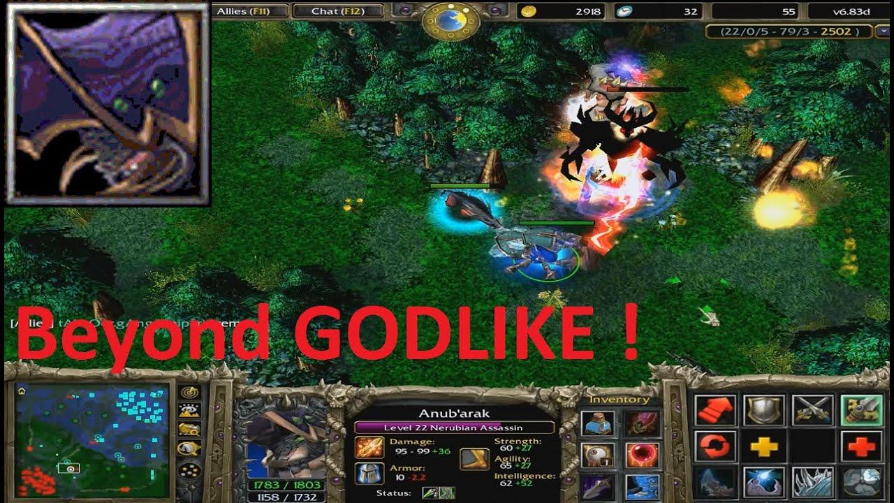 DotA 6.83d - Nerubian Assassin, Anub'arak Beyond GODLIKE ...