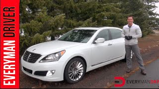How Fast 0 60 mph 2014 Hyundai Equus on Everyman Driver смотреть