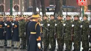 Ceremonialul de învestire a Preşedintelui la Palatul Cotroceni 21.12.2009