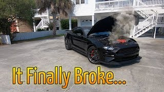 R.I.P. CANT Believe I DESTROYED A Automatic 2018 Mustang GT( Stangmodes Black Mamba)