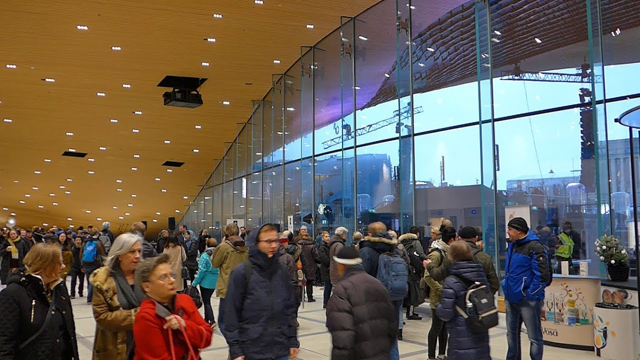 Oodi Helsinki Public Library :: Grand Opening Architectural Video Tour :: Finland