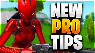 NEW UNKNOWN PRO TIPS YOU NEED TO LEARN! (Fortnite Battle Royale)