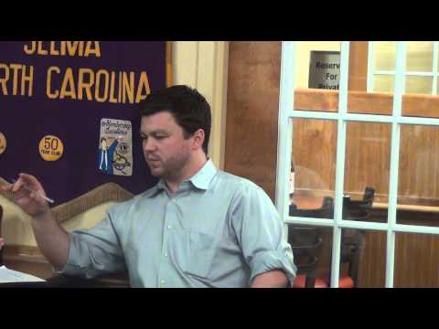 Mike Rusher on North Carolina and Johnston County 2012 Elect