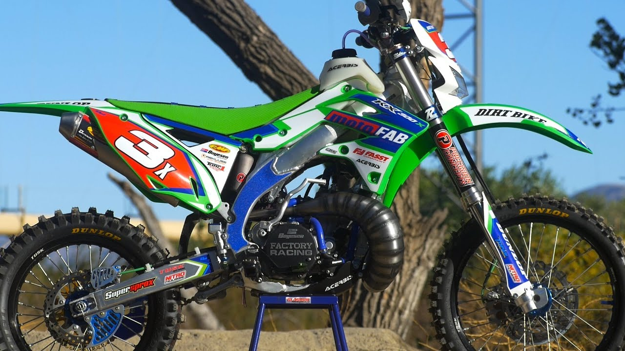 Extreme KX300 2 stroke Offroad Build - Dirt Bike Magazine