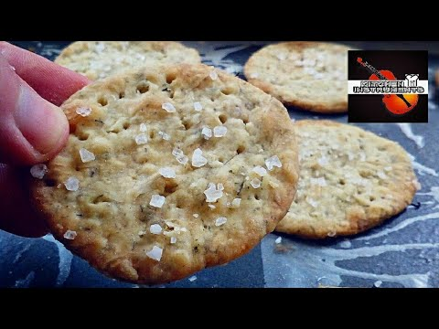 Make Your Own Crackers! (Sea Salt Herb Cracker Recipe) | Kitchen Instruments