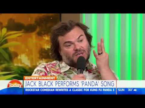 Jack Black Takeover: Kung Fu Fighting performance