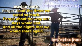 Mike Malak & The Fakers  - Forget About Me  (Bellamy Brothers, cover song, lyrics)