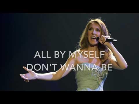 All by myself - Celine Dion version - Karaoke original key
