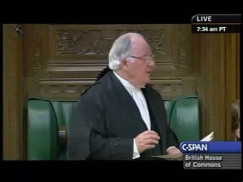 Speaker of Britain's House of Commons Apologizes