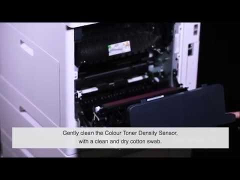 How to Clean CTD sensor- DocuPrint CM315z/CM318z - English