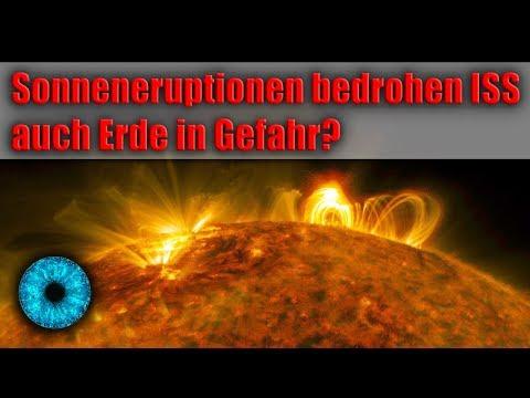 Sonneneruptionen bedrohen ISS - auch Erde in Gefahr? - Clixoom Science & Fiction