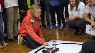 Соревнования роботов на 3 областном Фестивале Науки в Белгороде