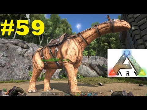ARK SURVIVAL EVOLVED [PC] - #59 - Domando o PESCOÇUDO - PARACERATHERIUM - PT-BR