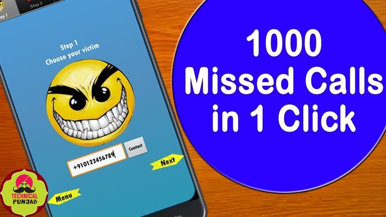 Unlimited Miss Clls in One Click - Make Unlimited Missed Calls to Prank  Your Friends