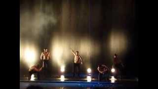 """Шоу-балет """"Искушение"""". Танцы под дождем."""