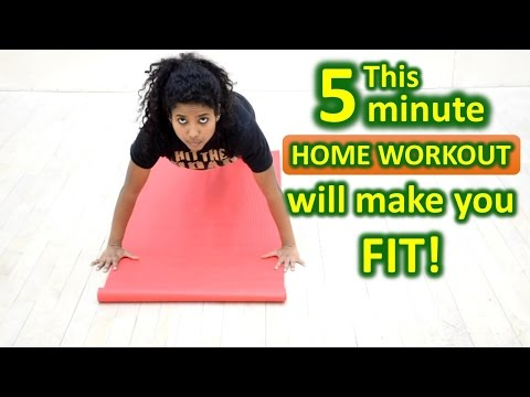 5 Minute Home Workout #8