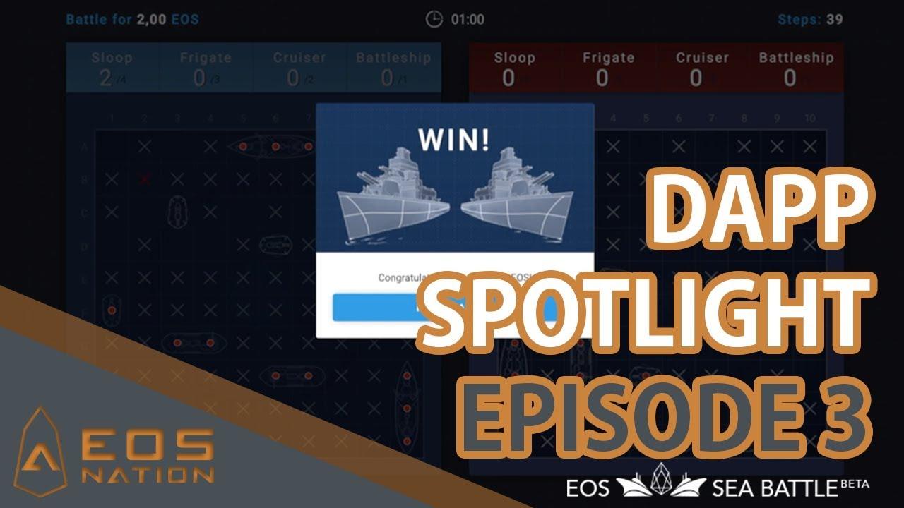 EOS dApp Spotlight   Episode 3   EOS Sea Battle