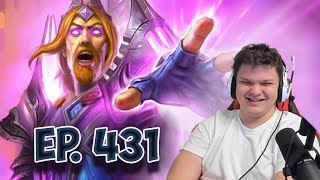 Сильвер смотрит: Funny And Lucky Moments - Hearthstone - Ep. 431