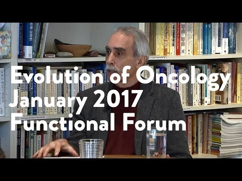 Evolution of Oncology | Functional Forum January 2017