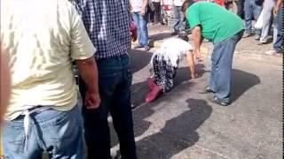 Agreden Ambulantes a Inspectores de Comercio de Coatzacoalcos