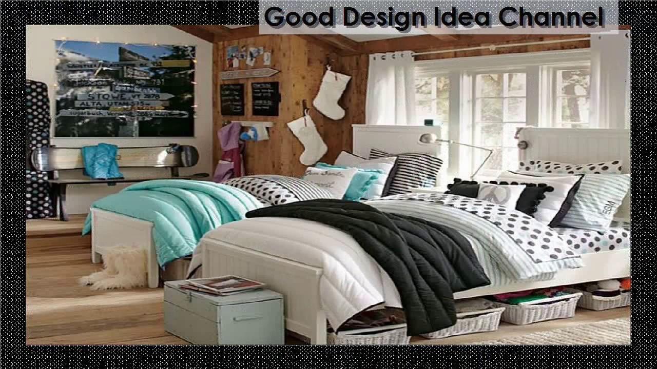 Teenage Girl Bedroom Ideas For Two teenage girl bedroom ideas for two - youtube
