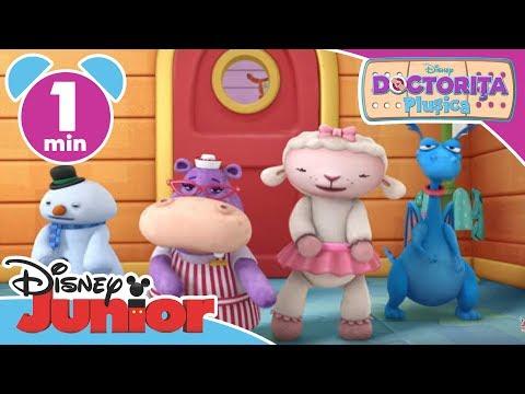 Doctorița Plușica – La veterinar - cântecel. Doar la Disney Junior!