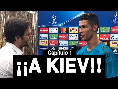 Con CRISTIANO RONALDO rumbo a Kiev | Vlog 74