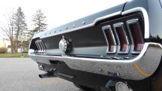1968 ford black mustang for sale at www coyoteclassics com