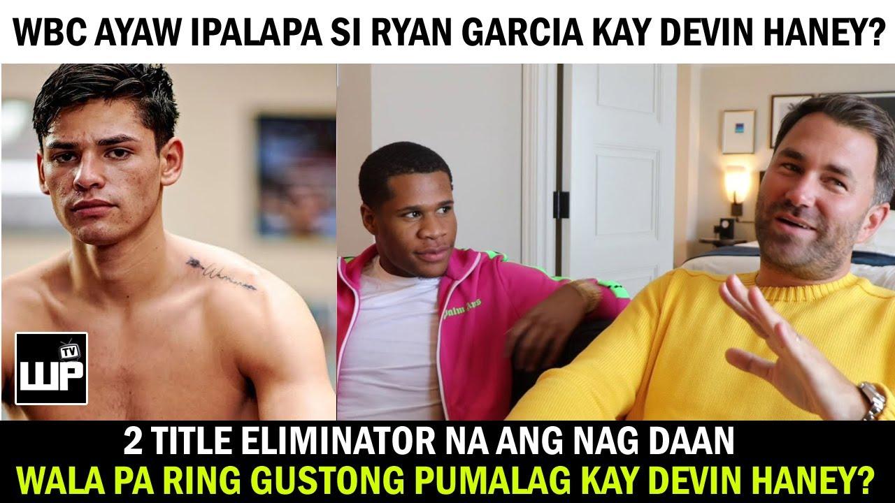 Download Ryan Garcia PROTEKADO ng WBC? Wala pa rin Gustong PUMALAG kay Devin Haney   Hearn BADTRIP NA!