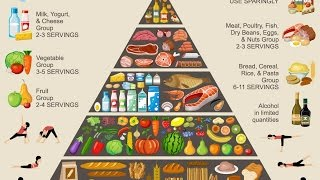 What is food pyramid? it a simple visual guide designed to make eating healthy easier. that contains the same type of nutrients are grouped together ...