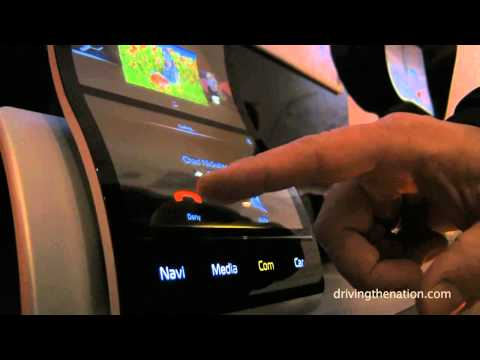 Continental AG explains AMOLED Technology Integration at the 2015 Consumer Electronics Show (CES)