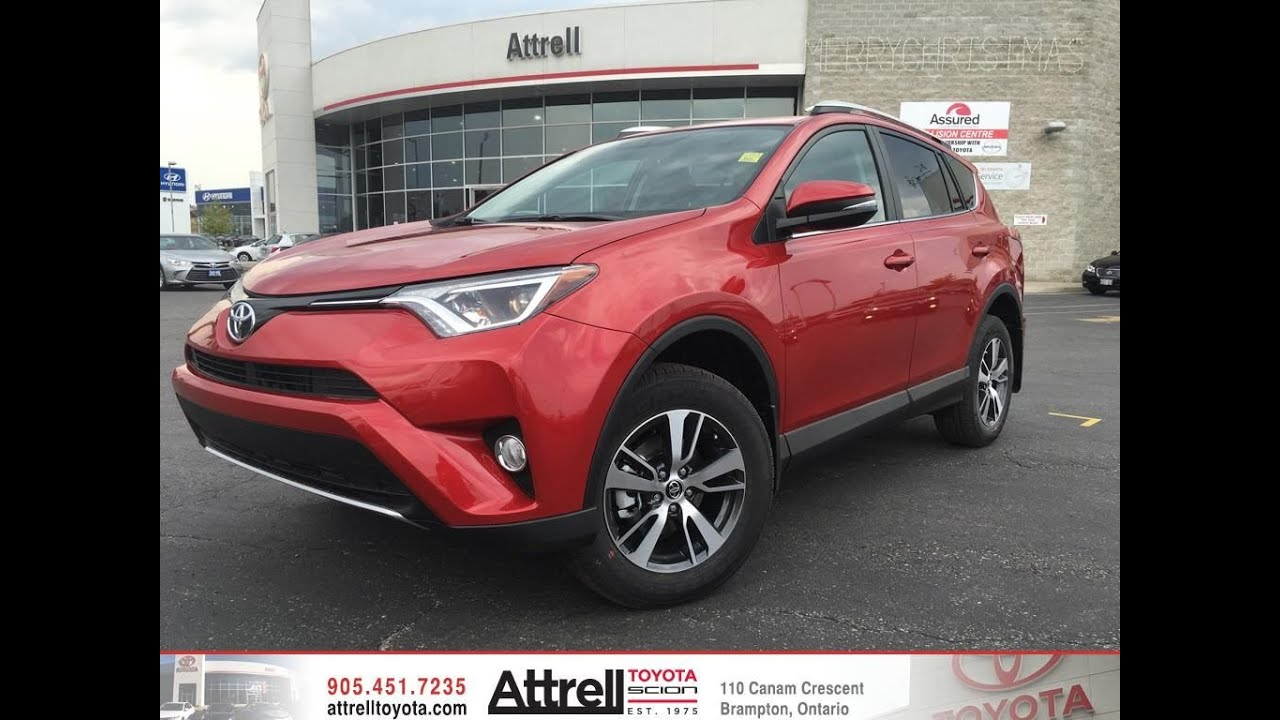 2016 Toyota Rav4 Awd Xle Review Brampton On Attrell