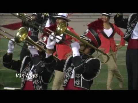 """Van Nuys High School Marching Band """"Mexican Adventures"""" 2012"""