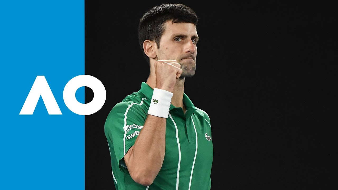 Djokovic wins fifth to take the championship thumbnail