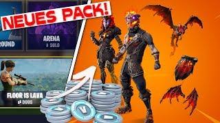 NEW LAVA LEGENDEN PACK leaked! | All Dances Ingame Leak | Fortnite Update 8.2