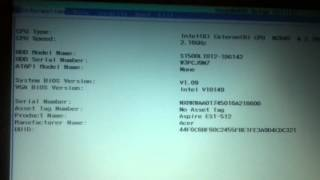 Acer Aspire ES1-512 mouse touch pad Not Working FIX!!!