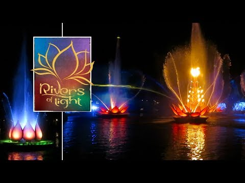 Rivers Of Light and Expedition Everest Night rides at Disney's Animal Kingdom!