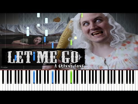 LET ME GO: A Granny Song - Random Encounters [Synthesia Piano Tutorial]