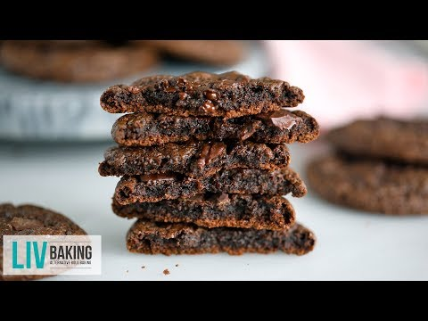 The Ultimate Flourless Chocolate Cookies | Liv Baking